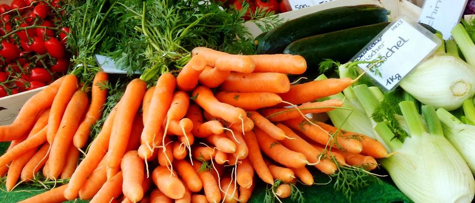Carotenoides en las zanahorias
