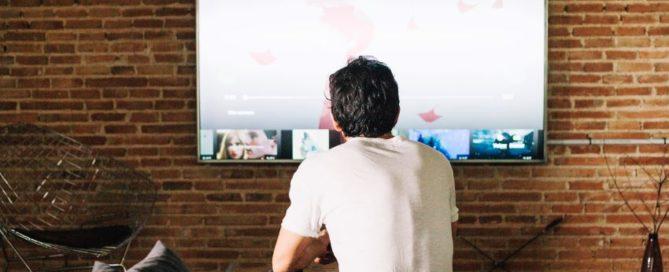 cual es la distancia para ver la tv