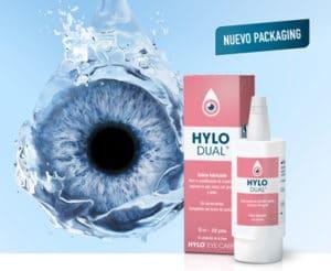 Hylo-Dual colirio anti-alérgico con Ectoína y Hialurónico