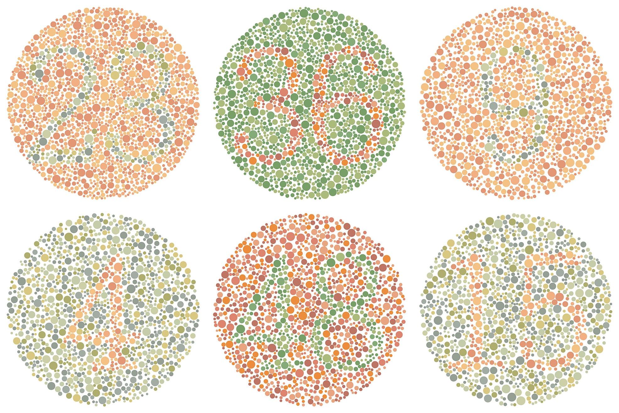 ishihara, daltonismo, infancia, visión